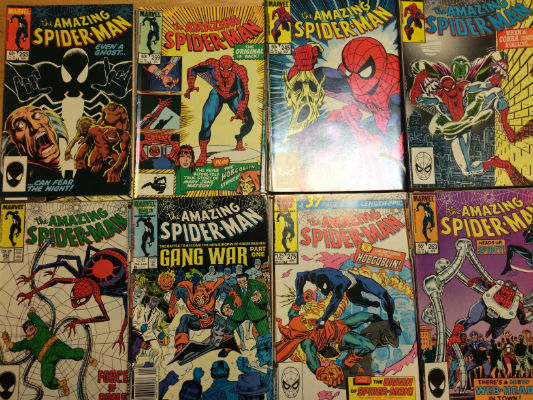 Image for Amazing Spider-man run (#231-297) plus Amazing Spider-man annnuals (#5-#21)  for  a total of 73 comics!!!