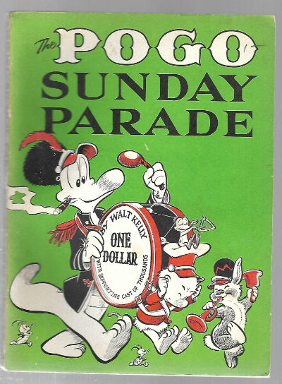 Image for The Pogo Sunday parade Paperback – 1958  by Walt Kelly  (Author)