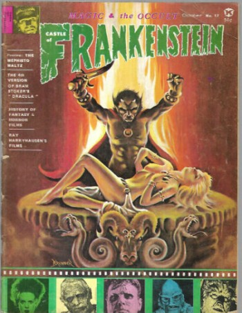 Image for The Castle of Frankenstein #17