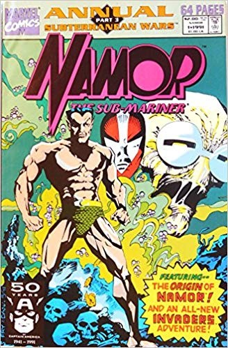 Image for Namor: The Sub-Mariner, Annual, Vol 1, no. 1, Part 3 Subterranean Wars (Comic)