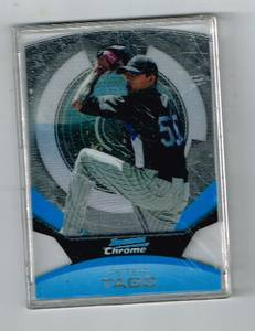 Image for Peter Tago (Baseball Card) 2011 Bowman Chrome - Futures - Refractor #16  Bowman Chrome