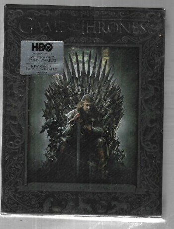 Image for Game of Thrones: The Complete First Season (DVD, 2012, 5-Disc Set) w/BONUS DISC