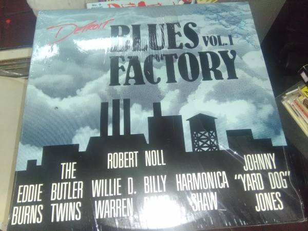 "Image for Detroit Blues Factory Vol. 1  Label:  Blues Factory ‎– BF 1000  Format:  Vinyl, LP, Compilation   Country:  US  Released:  1987  Genre:  Blues  Style:  signed by 3 artists,the only one I can rcognize is Johnny ""Yard Dog""Jones."