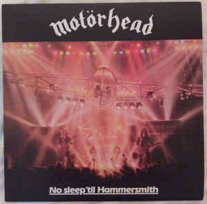 Image for Motörhead ‎– No Sleep 'til Hammersmith  Label:  Bronze ‎– BMG15015V  Format:  Vinyl, LP, Album, Reissue, 180 g  Country:  US  Released:  19 May 2015  Genre:  Rock  Style:  Hard Rock, Heavy Metal