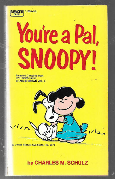 Image for You're a Pal Snoopy