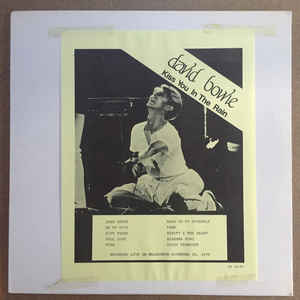 Image for David Bowie ‎– Kiss You In The Rain  Label:  Raven Records, Inc ‎– DB 6143  Format:  Vinyl, LP, Unofficial Release   Country:     Released:  1979  Genre:  Rock  Style:  Glam