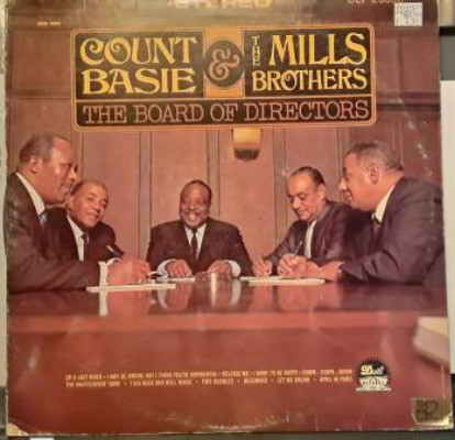 Image for Count Basie and the Mills Brothers:The Board of Directors