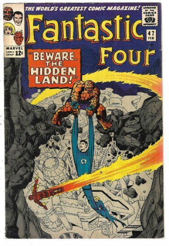Image for Fantastic Four #47