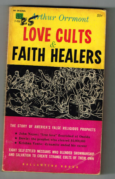 Image for Love Cults & Faith Healers