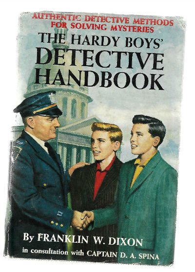 Image for THE HARDY BOYS' DETECTIVE HANDBOOK (Hardcover)