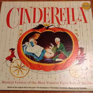Image for Kay Lande, Peggy Powers, Ed Powell ‎– Cinderella  Label:  Golden Records (2) ‎– LP 117