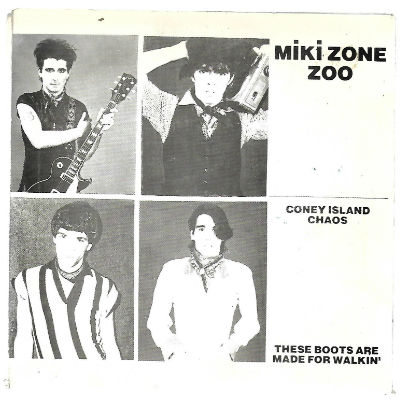 "Image for Miki Zone Zoo ‎– Coney Island Chaos  Label:  Miki Zone Zoo ‎– MZ1  Format:  Vinyl, 7"", 45 RPM, Single   Country:  US  Released:  1979  Genre:  Rock, Pop  Style:  Punk"