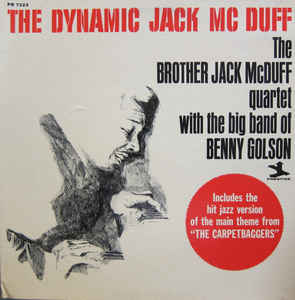 Image for The Brother Jack McDuff Quartet With The Big Band Of Benny Golson ‎– The Dynamic Jack Mc Duff