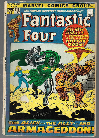 Image for Fantastic Four #116