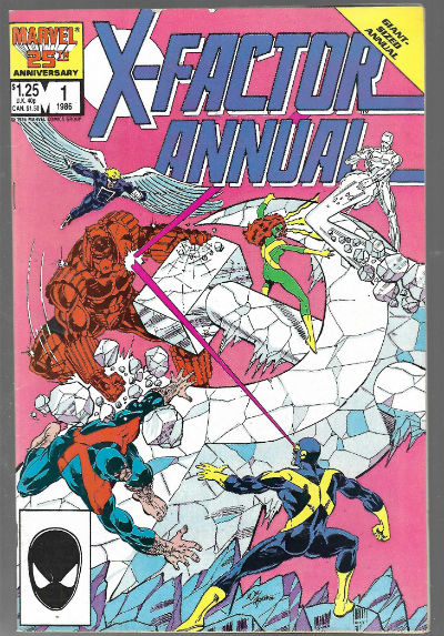 Image for X-Factor (1986 1st Series) Annual