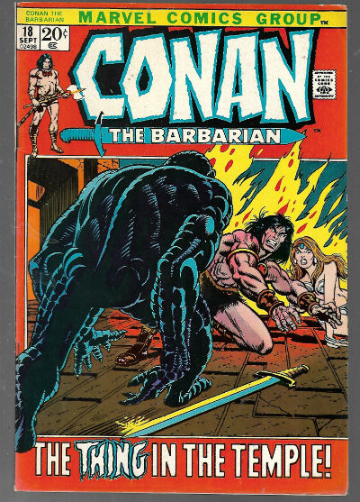 Image for Conan the Barbarian (1972 Marvel) #18