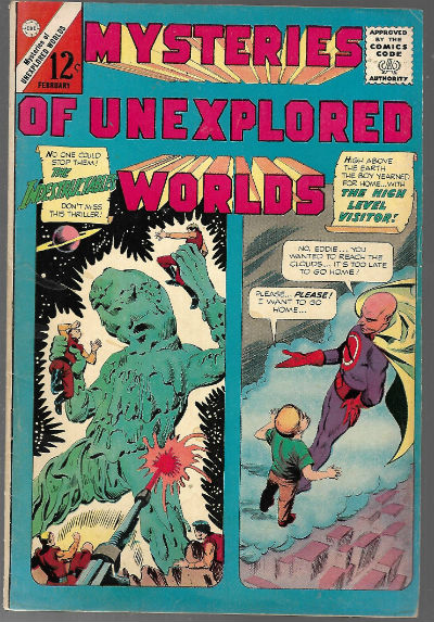 Image for Mysteries of Unexplored Worlds (1965) #45