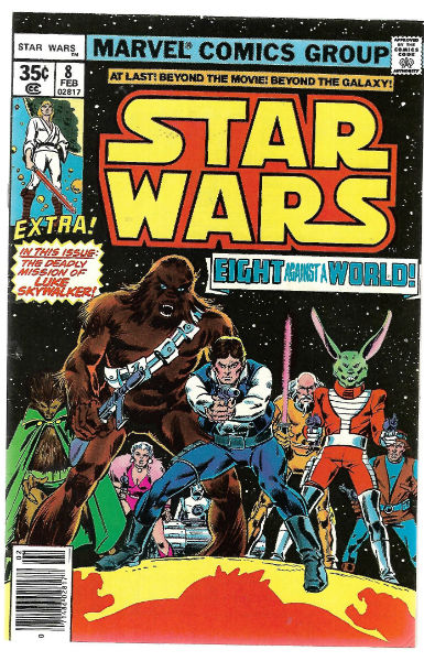 Image for Star Wars (1977 Marvel) #8