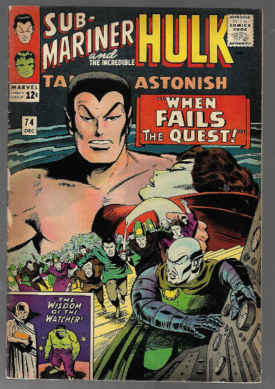 Image for Tales to Astonish (1965 1st Series) #74