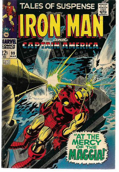 Image for Tales of Suspense (1968) #99