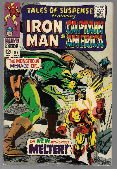 Image for Tales of Suspense (1967) #89