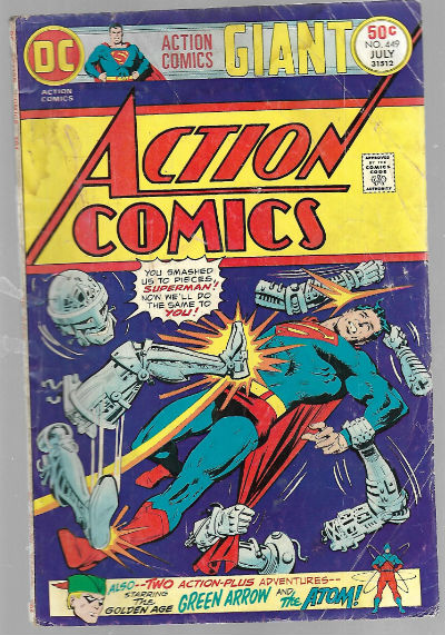 Image for Action Comics,#449,July 1975