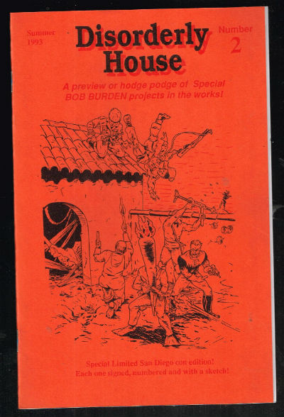 Image for Disorderly House No. 3 Ashcan (2010) comic books-signed with doodle by Bob burden
