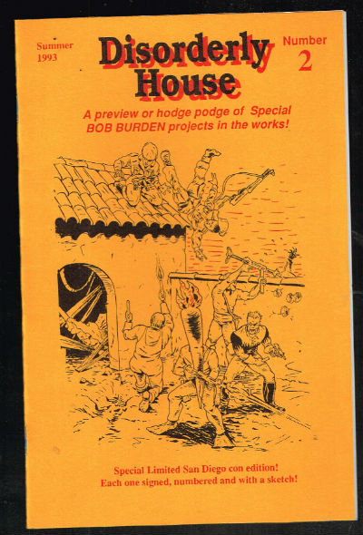 Image for disorderly house #2[Limited edition, Signed and Numbered ashcan #200] Bob Burden Books
