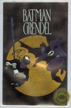 Image for Batman Grendel (1993) Ashcan #1GOLD  Tags: Ashcan Editions, Mini Comic  sealed  numbered,07001