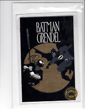 Image for BATMAN GRENDEL HERO PREMIERE EDITION ASHCAN #2 GOLD FOIL VARIANT SEALED-ashcan  #04984