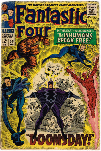 Image for FANTASTIC FOUR #59   VOLUME 1 |  MARVEL