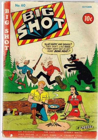 Image for BIG SHOT COMICS #60   VOLUME 1 |  COLUMBIA COMICS GROUP
