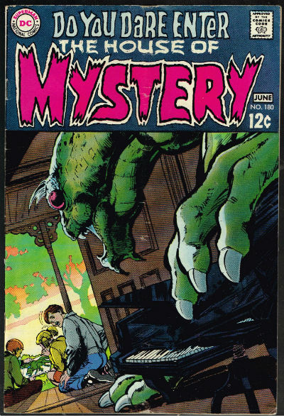 Image for HOUSE OF MYSTERY #180   VOLUME 1 |  DC