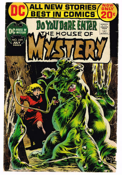 Image for HOUSE OF MYSTERY #204   VOLUME 1 |  DC