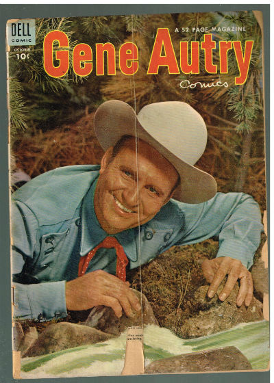 Image for GENE AUTRY COMICS #80   VOLUME 3 |  DELL