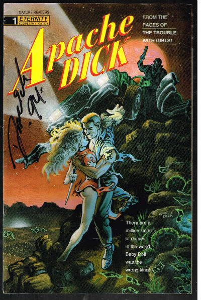 Image for Apache Dick (1990) #1-signed edition by Gerard Jones
