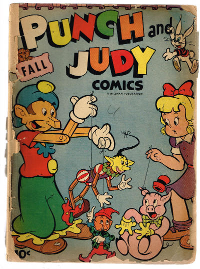 Image for PUNCH AND JUDY COMICS #4   VOLUME 2 |  HILLMAN PUBLICATIONS