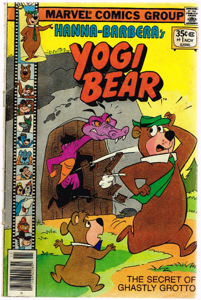 Image for YOGI BEAR (HANNA-BARBERA) #1   VOLUME 1 |  MARVEL