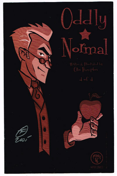 Image for ODDLY NORMAL #4   MINI-SERIES |  VIPER COMICS  signed