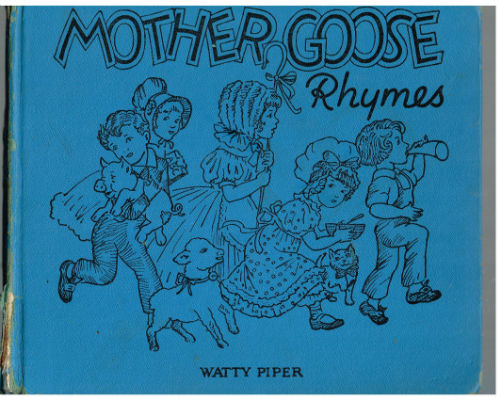 Mother Goose and rhymes