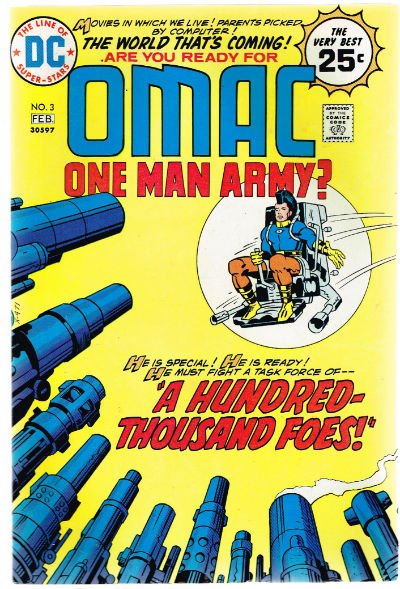 Image for OMAC #3   VOLUME 1 |  DC