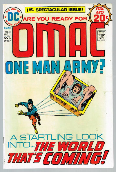 Image for OMAC #1   VOLUME 1 |  DC