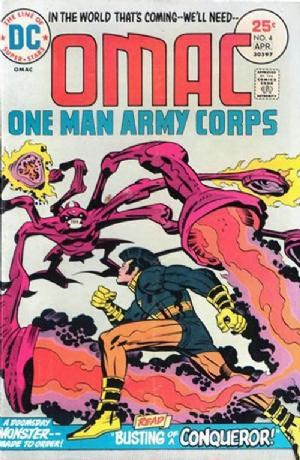 Image for OMAC #4 thru #8