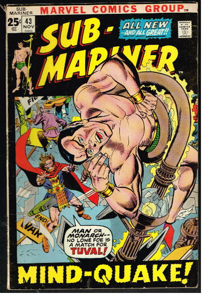 Image for Sub-Mariner (1968 1st Series) #43