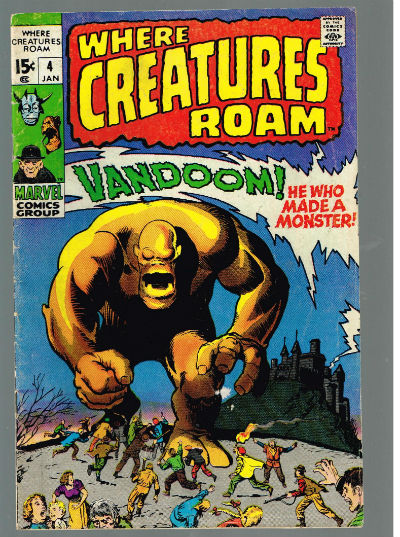 Image for WHERE CREATURES ROAM #4   VOLUME 1 |  MARVEL