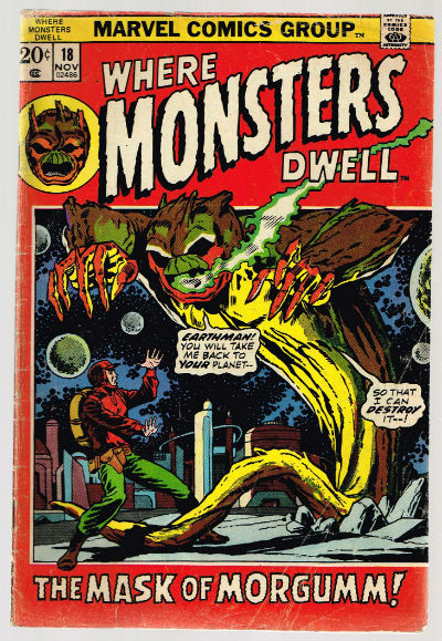 Image for Where Monsters Dwell #18