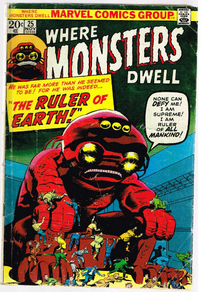 Image for WHERE MONSTERS DWELL #25   VOLUME 1 |  MARVEL
