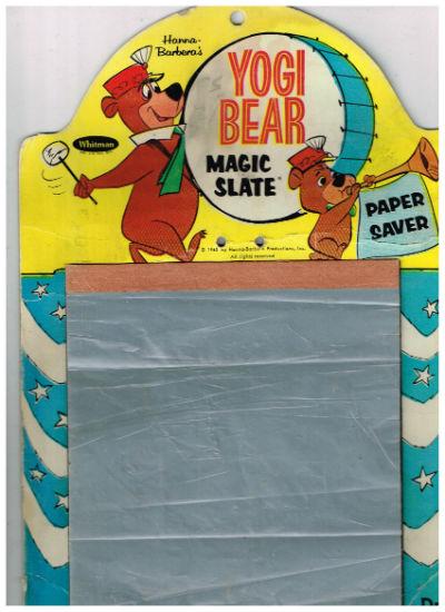 Yogi bear magic slate-1963