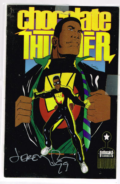 Image for Chocolate Thunder ashcan 1998  signed by Jeremy Love
