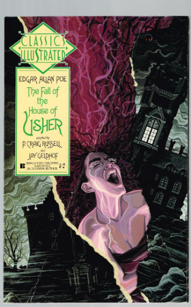 Image for The Fall of the House of Usher (Classics Illustrated)  by Poe, Edgar Allan